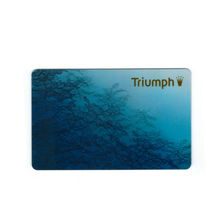 Triumph Business Card magnetic stripe card