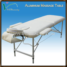 newest style aluminum massage table &aluminum frame health comfort massage table/massage bed/massage couch