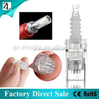 ZL Factory Direct Sale Anti Wrinkle Electric Dermapen 12 Needles Derma Pen Cartridge Needle