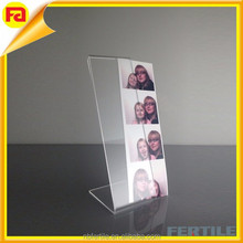 Acrylic Photo Booth Frames, Slanted for 2x6 Picture Strips