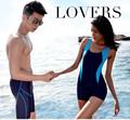 Preço barato casal calções de praia lycra mulheres e homens de natação shorts sexy E038