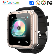 Latest Touch Screen Wrist Watch Mobile Phone Music watch With good sounds And CE ROHS Certificate