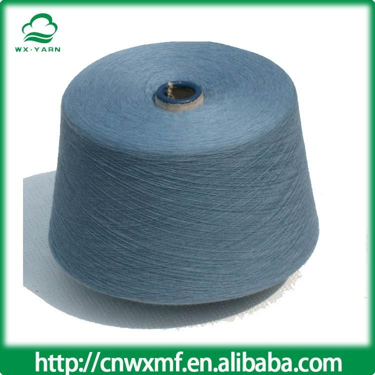 Дешевые цены 7Ne/1 смешанная пряжа высокой прочности с ткацкая пряжа