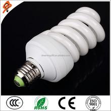 Full Spiral shape 36W E27/B22 CFL Energy Saving Lamp CE& RoHs china manufacture wholesale cfl bulbs High Lumen Efficiency
