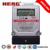Single Phase Digital K-Watt Hour Meter Heag china