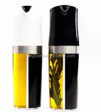 Oil & vinegar dispenser/2 in 1 oil and vinegar dispenser, spray oil and vinegar