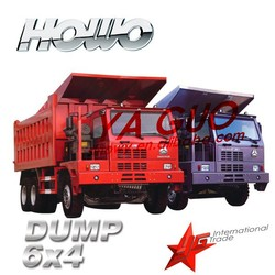 china best price howo 50tons 6x4 heavy duty truck