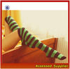 2015 Hot Amazing Best Thigh High Socks/Sexy Girls Knitting Striped Stockings/Wholesale Knee High Socks For Women---AMY10226