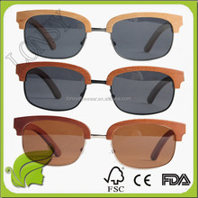 100% natural wholesale handmade wooden sun glasses,Personality acetate and wood sunglasses