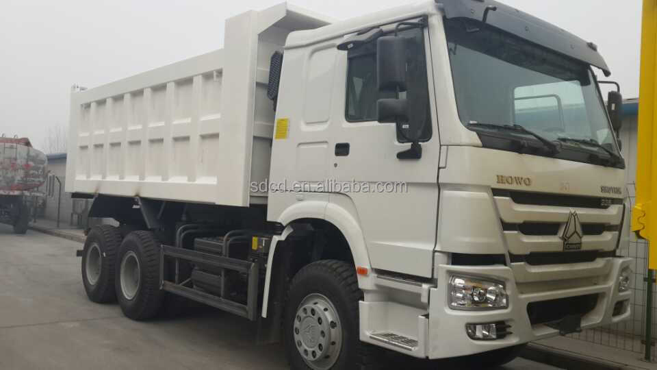 2014 China made 6x4 371hp new tipper trucks for trailers and trucks