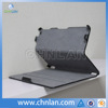 High quality hot pressing flip leather micro fiber cover case for ipad air