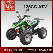 Jinling atv JLA-07-06 loncin 110cc CE approvaled automatic green off brand dirt bikes