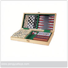 aluminium solitaire Game , french noble style Wooden Board Games , Travel Magnetic Game