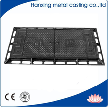 cast iron EN124 rectangular manhole covers