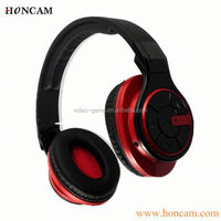 bluetooth noise cancelling headphones with microphone and tf card slot