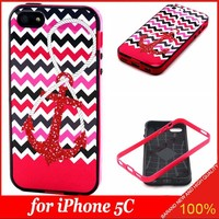 2015 New Arrival Fashion Color Printed Case For Apple iPhone 5C Cover