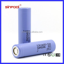Authentic samsung 18650 PROTECTED ICR18650-32A 3200mah 1x18650 lithium rechargeable battery