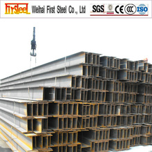 Manufacture structural steel section h beam jis g3101 ss400