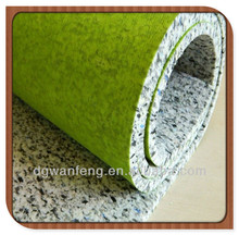 Hot sale!! Foam Underlay/Soundproof & Fireproof Carpet Underlayment for Hotel Use