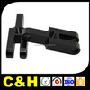 high precision black anodized cnc machined aluminum parts