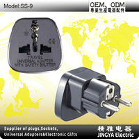 SS-9 Qualified Universal to France Plug Adapter