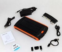 2013 Big Capacity Solar Power Banks, Solar Panel 1.5w for smartphones Camera PSP MP3/4/5
