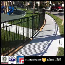 manufacturer cheap wrought iron fence,wrought iron fence accessories, model wrought iron fence