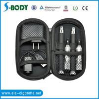 e-cigarette plastic zipper case ego zipper case for ego serious kit