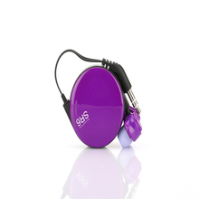 Hot sell mini SR6 portable earphone without Microphone colorful reel promotion In-ear