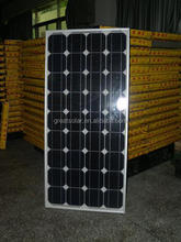 Best Price per watt!! 120w monocrystalline solar panels, solar power system sunrise energy solar production lines