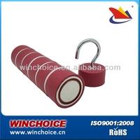 Magnetic Hook, rubber coated pot magnet, POTN03-40A