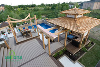 hot sales wood composite decking suitable for house