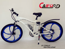Off or on road electric bike easy to ride