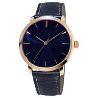 YB shenzhen top brand rose gold watch,fashion elegance leather watch ,quartz watches japan movt for wholesale