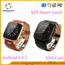 Android smart watch 2015 4 Grid UI Style ce rohs bluetooth smart watch with sin card