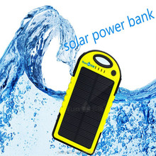 Wholesale China Merchandise Alibaba best sellers 5000mah Waterproof Portable Solar Charger for mobile phone