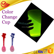 new product for changing color cup glass