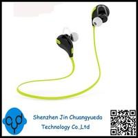 QY7 Wireless Bluetooth 4.1 Stereo Earphone Fashion Sport Running Headphone Studio Music Headset with Microphone