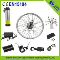 Brushless motor controller 36v 250w bottle battery ebike conversion kit