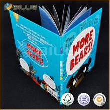Customized colorful top quality book printing