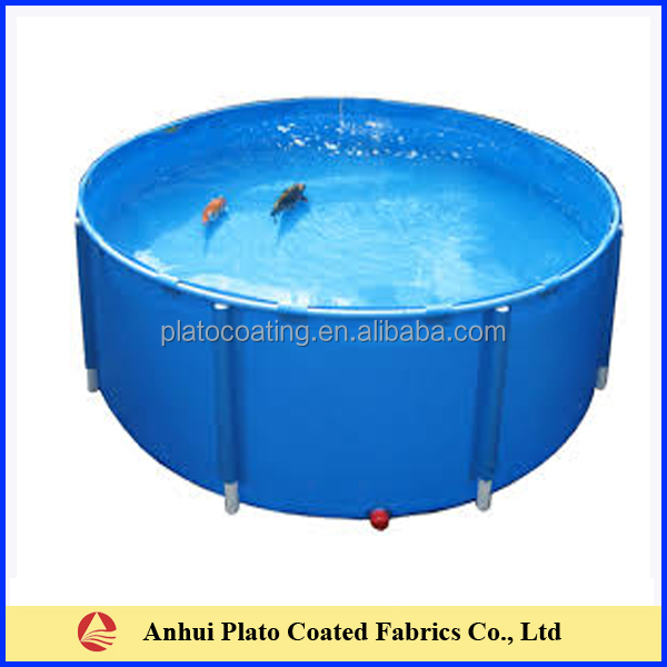 Pvc Hot Water Tank : Customized pvc coated water tank containeron hot sale in