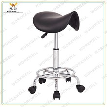 WorkWell cheapest simple design swivel bar stool with footrest kw-S3044