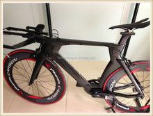 full carbon triathlon frame non-isp carbon tt bike, carbon fiber tt bicycle frameset, fork, seatpost, clamp