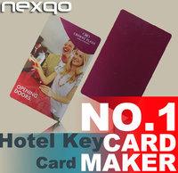 Good price plastic rfid / magnetic stripe hotel door card hotel key card