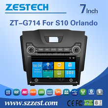 Chinese car parts for Chevrolet car gps accessories BT 3G Navi function car audio for Chevrolet S10 Orlando
