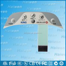 Personnalisée prototype membrane switch
