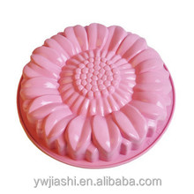Girasol molde de pastel de silicona para la familia pastel de bricolaje