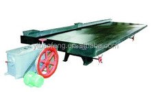 China mining machine hot sale energy consumption gravity equipment shaking table used in gold plant