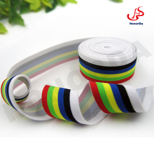 Colorful stripe Elastic Waistband for Ladies underwear Polyamid / Rubber