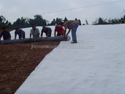 Hydrophobic PET / PP Nonwoven Geotextile For Slope Protection